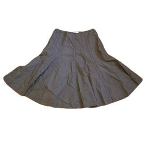 Cabi Brown Midi Skirt Fit and Flare size 4